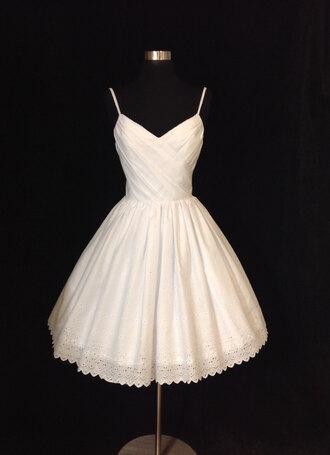 dress bridesmaid-dress tea-length white-v-neck lovely homecoming dress