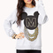 Street-chic mickey mouse sweatshirt | forever 21 - 2000075226