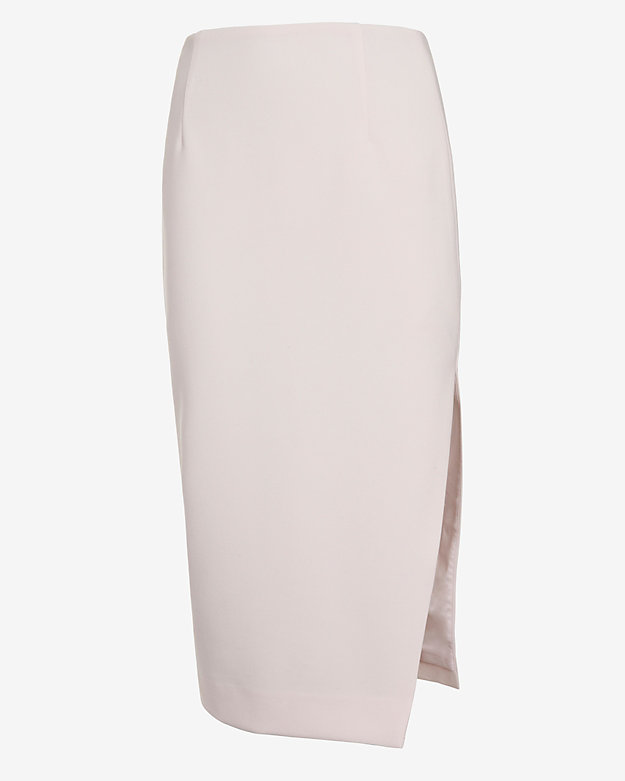 Exclusive for intermix slit pencil skirt