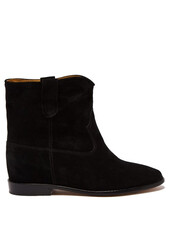suede ankle boots,ankle boots,suede,black,shoes