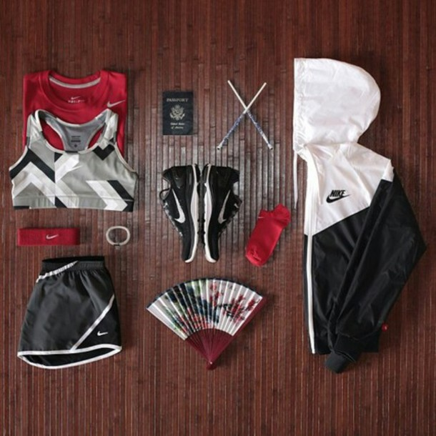 top sportswear sports bra nike workout running jacket