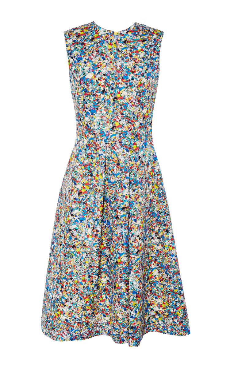 Roksanda blue print oakes dress by roksanda ilincic