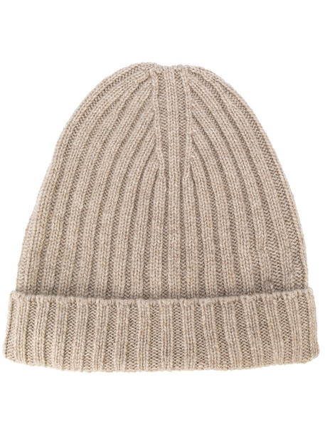 women beanie brown hat