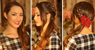 hapa time blogger hairstyles holiday season