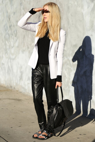 cheyenne meets chanel sweater shoes bag jacket