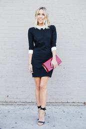 damsel in dior,blogger,t-shirt,bag,victoria beckham dress