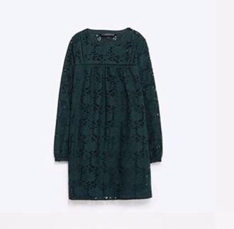dress green dress green lace dress lace sweet cute dress cute babydoll dress zara dress zara