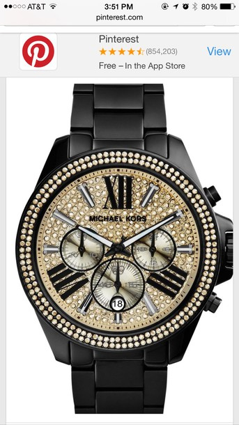 jewels michael kors watch