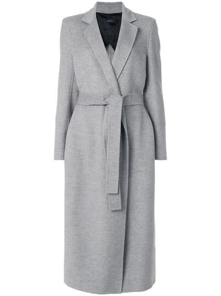 Joseph coat women wool grey