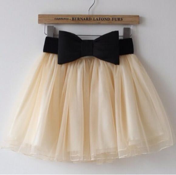 chiffon chiffon skirt bernardlafond bernard lafond furs bow skirt