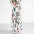 White Floral Print Floor Length Dress on Storenvy