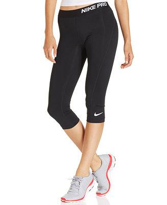 Unique Nike Pro Core Women39s Capris 458659 Training Pants Running Tennis Gym
