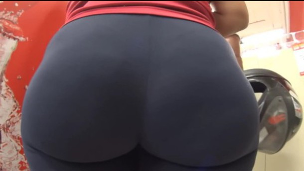 Not pay Hot ass in yoga pants made you