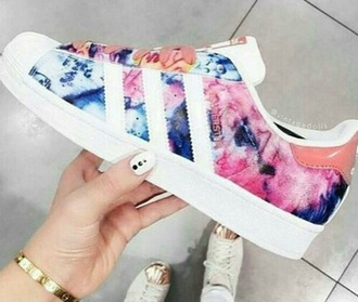 shoes adidas superstars multicolor sneakers multicolor adidas low top sneakers
