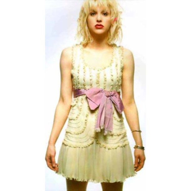 dress 90s style grunge courtney love