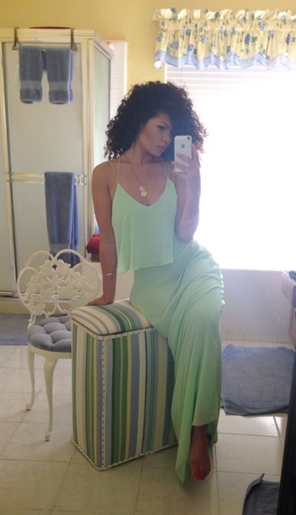 dress mint mint dress colorful dress summer dress