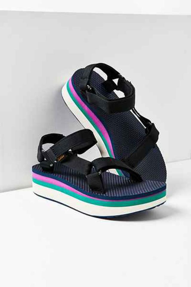 Summer Trends Teva Style Platform Sandals Wheretoget