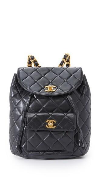 classic backpack black bag