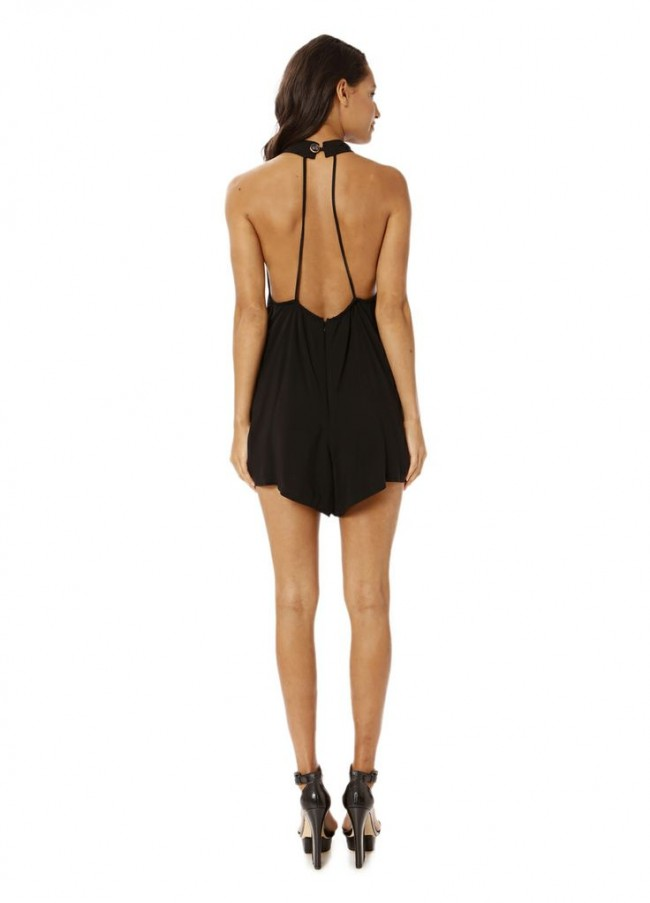 Isabelle rayon playsuit