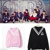 sweater,sweat,bts,K-pop,kpop