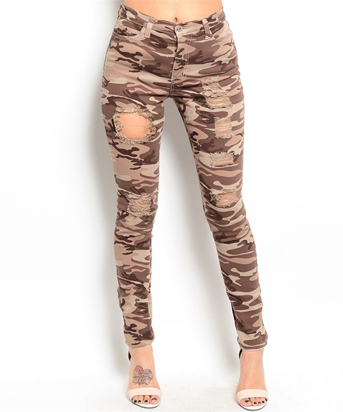 Lethalbeauty ? distressed brown army pants