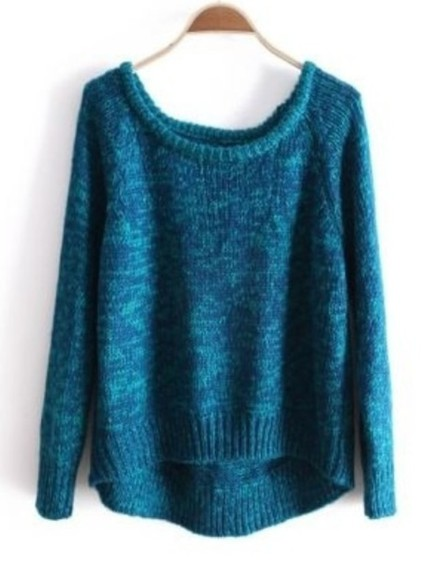 green green sweater grunge blue blue sweater turquoise turquoise sweater punk grunge sweater