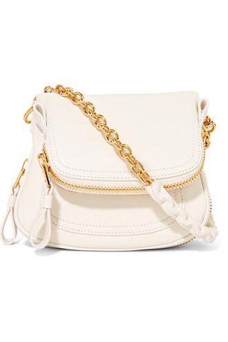 mini bag shoulder bag leather white off-white
