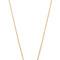 Jennifer zeuner jewelry clover necklace with diamond - gold