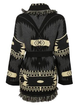 coat jacquard black