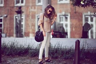 vasilieva blogger shirt jeans chloé chloe