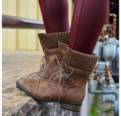 shoes,brown leather boots,brown combat boots,soft grunge,hipster,cool shoes,winter boots,cute,pants