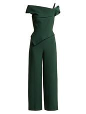 jumpsuit,wool,green