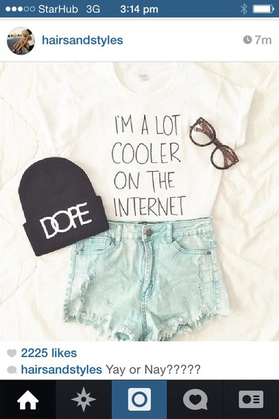 dope hat shirt