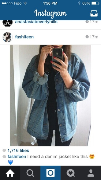 jacket denim jacket denim denim jacket oversized jackets in jeans jean jackets jean jacket for girls style shirt tumblr outfit tumbrl outfits tumblr shirt