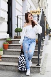 kapuczina,blogger,pants,blouse,jewels,shoes