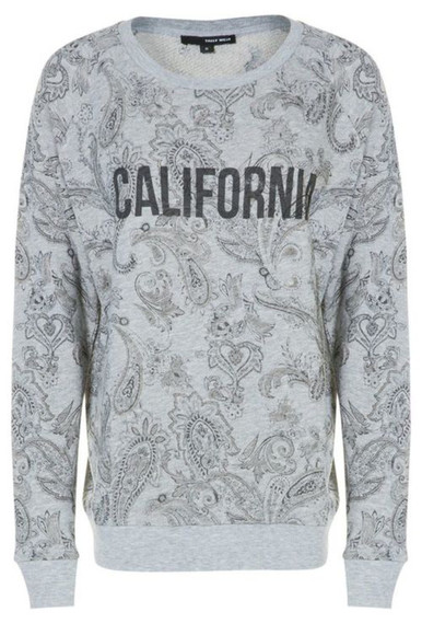 california sweater pull grey