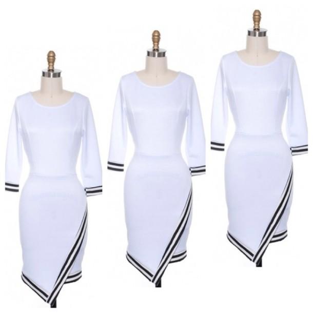 dress white dress white bodycon dress
