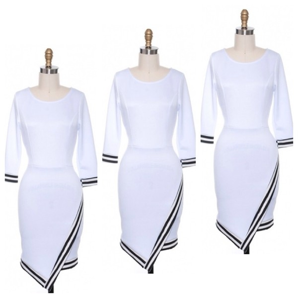 dress white dress white bodycon dress