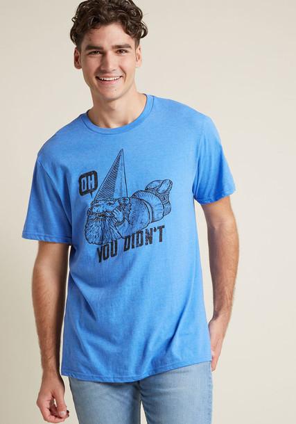 M6526 t-shirt shirt t-shirt comfy print blue black top