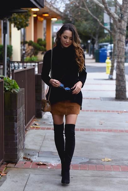 736d887e605 jessica r. hapa time - a california fashion blog by jessica blogger shoes  skirt brown