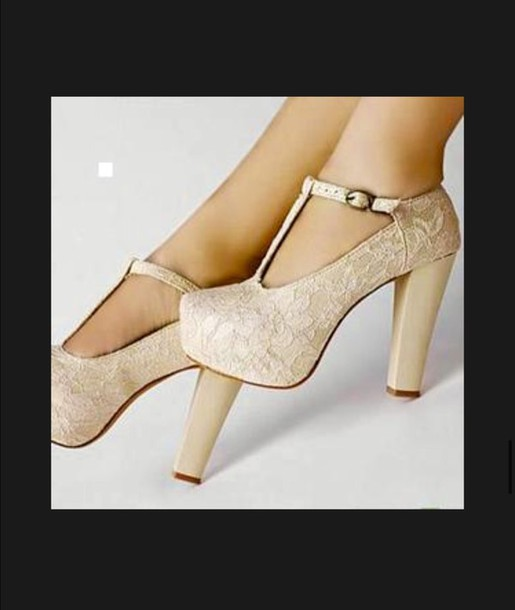shoes lace high heels wedges white cream high heels cream platform shoes nude heels t-strap heels