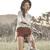 Vintage Bright Chiffon Shirt | Choies