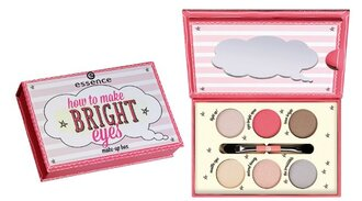 make-up essence beauty bright eye palette box how to