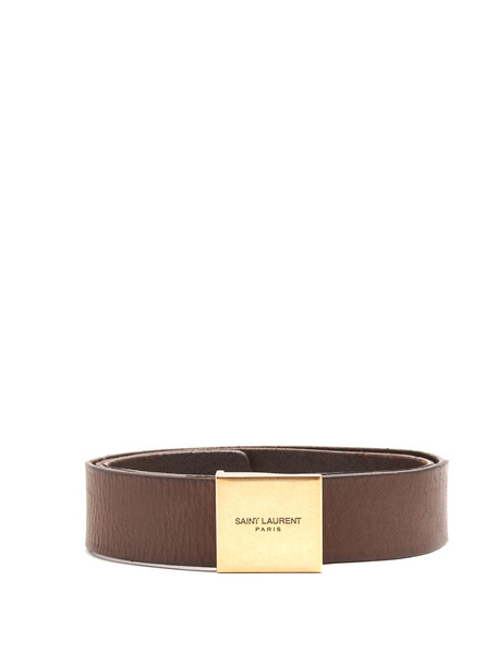Saint Laurent belt waist belt leather brown