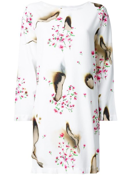 Moschino dress floral dress women floral white