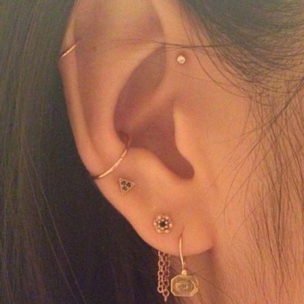 Jewels helix piercing forward helix piercing piercing