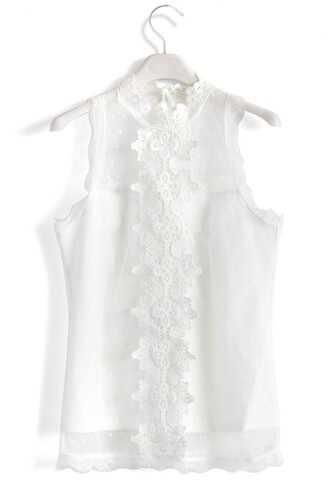 top crochet obsession sleeveless top chicwish sleeveless