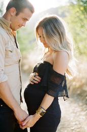 dress,black dress,love,bracelets,style,maternity,lifestyle,maternity dress