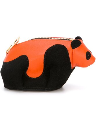 panda purse black bag