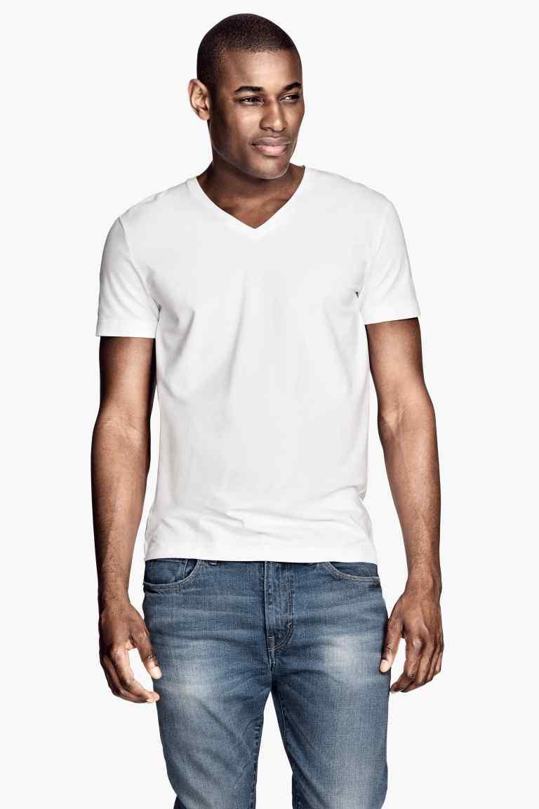 Camiseta en tejido elástico